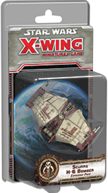 Star Wars X-Wing - Scurrg H-6 Bomber