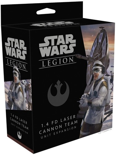 Star Wars Legion 1.4 FD Laser Cannon Team Unit