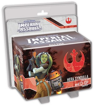 Star Wars Imperial Assault - Hera and C1-10P Ally Pack