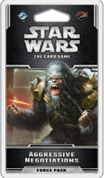 Star Wars The Card Game - Aggressive Negotiations
