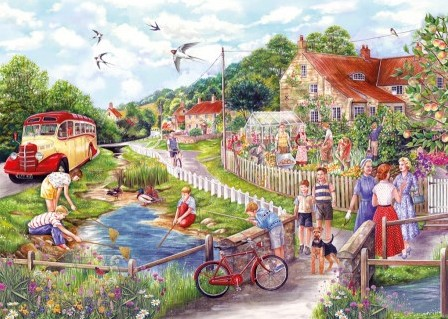 Summer by the Stream Puzzel (250 XL)