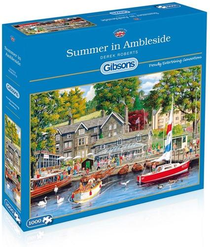 Summer in Ambleside Puzzel (1000 stukjes)