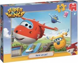 Super Wings Puzzel - Here We Go (35 stukjes)