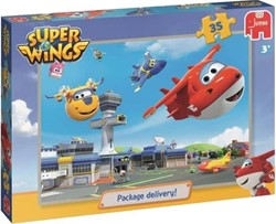 Super Wings Puzzel - Package Delivery (35 stukjes)