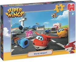 Super Wings Puzzel - World Airport (35 stukjes)