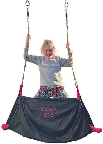 Swingbag Zwart/Roze-3