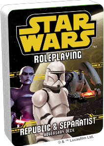 Star Wars RPG - Republic & Separatist Adversary Deck