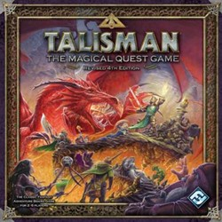 Talisman The Magical Quest Game Revised 4th