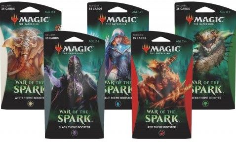 Magic The Gathering - War of the Spark Theme Booster