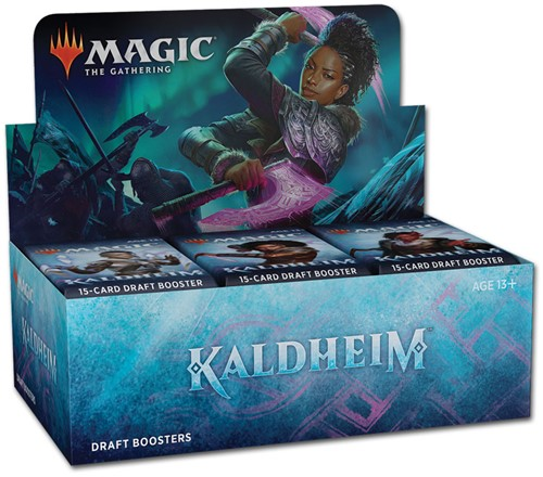 Magic The Gathering - Kaldheim Draft Boosterbox