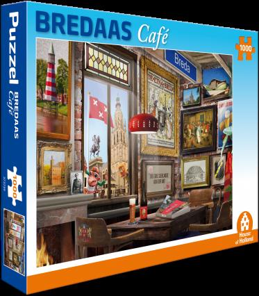 Bredaas Café Puzzel (1000 stukjes)