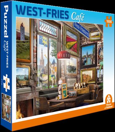 West Fries Café Puzzel (1000 stukjes)