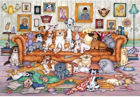 The Barker-Scratchits Puzzel (500 stukjes)