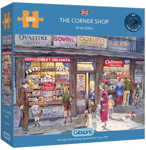 The Corner Shop Puzzel (500 stukjes)
