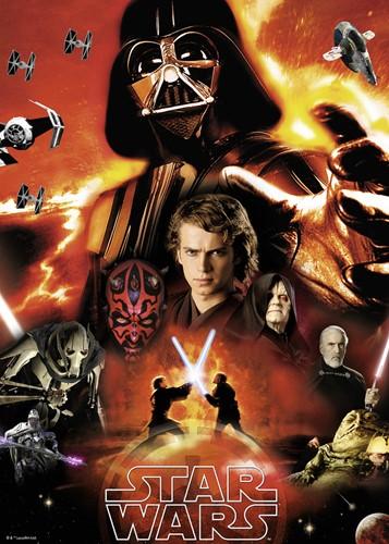 Star Wars - The Dark Side Puzzel (1000 stukjes)