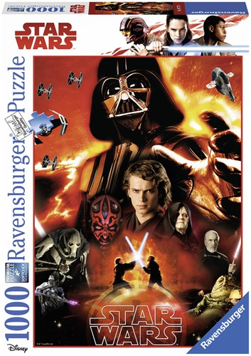 Star Wars - The Dark Side Puzzel (1000 stukjes)-1