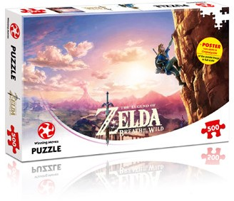 The Legend of Zelda - Breath of the Wild Puzzel (500 stukjes)