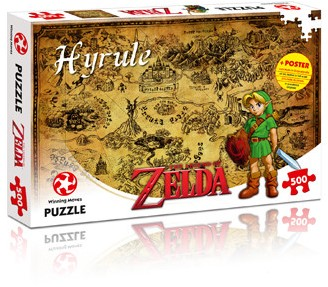 The Legend of Zelda - Hyrule Puzzel (500 stukjes)