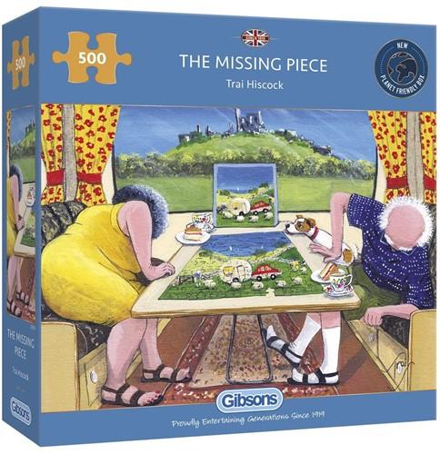The Missing Piece Puzzel (500 stukjes)