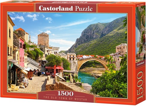 The Old Town Of Mostar Puzzel (1500 stukjes)
