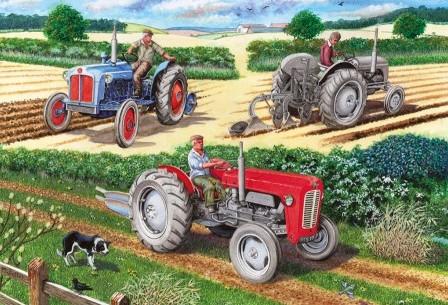 The Ploughing Match Puzzel (500 stukjes)