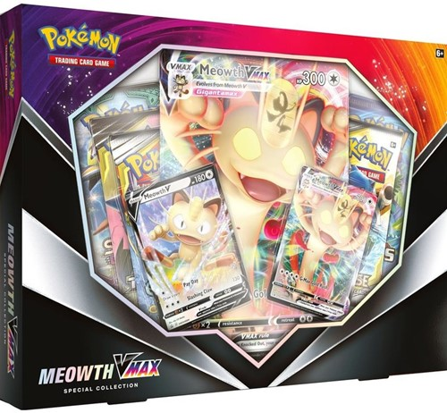 Pokemon - Meowth VMAX Special Collection Box