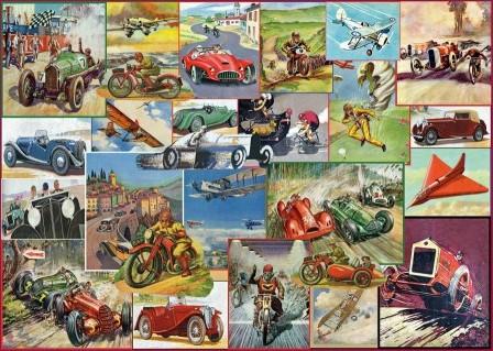 The Racing Game Puzzel (1000 stukjes)
