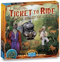 Ticket To Ride - The Heart of Africa Uitbreiding
