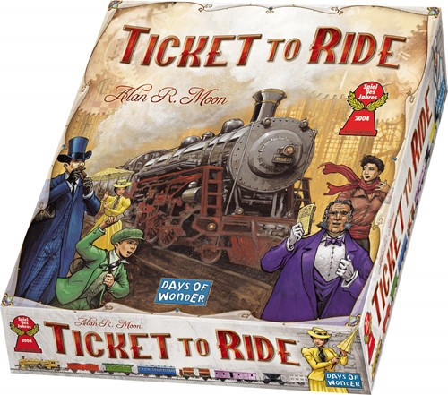 Ticket To Ride (Engels)-1