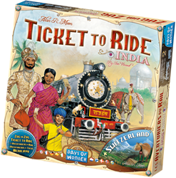 Ticket To Ride - India Uitbreiding