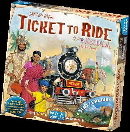 Ticket To Ride - India Uitbreiding