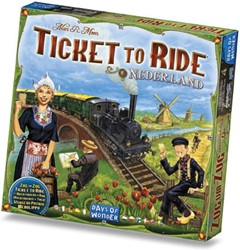Ticket To Ride - Nederland Uitbreiding