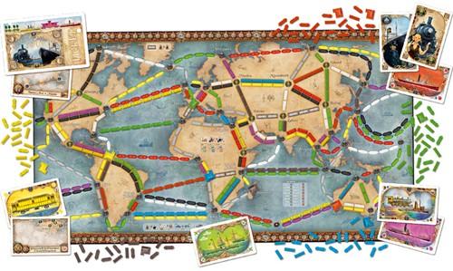 Ticket To Ride - Rails & Sails (Engelse versie)-3