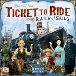 Ticket To Ride - Rails & Sails (Engelse versie)