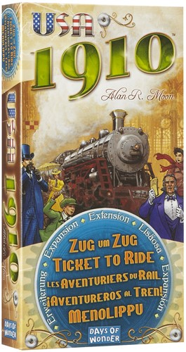 Ticket To Ride - USA 1910 Uitbreiding