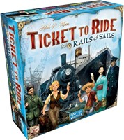 Ticket To Ride - Rails & Sails (Engelse versie)