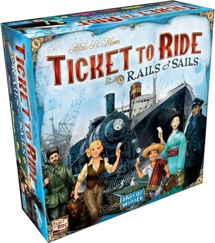 Ticket To Ride - Rails & Sails (NL)