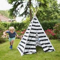 Tipi Tent (Stippen en Strepen)-2
