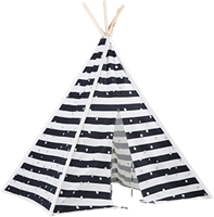 Tipi Tent (Stippen en Strepen)-1