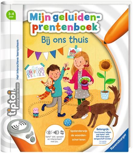 Tiptoi Geluiden Prentenboek - Bij Ons Thuis