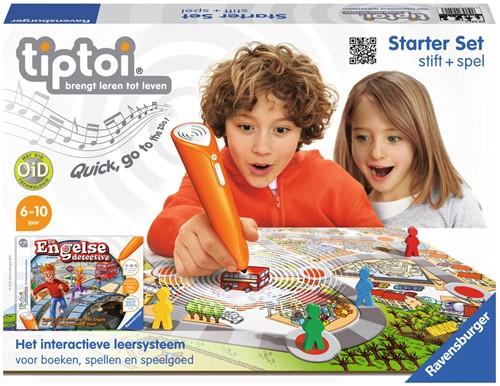 Tiptoi Starterset - Stift + Engelse Detective-1