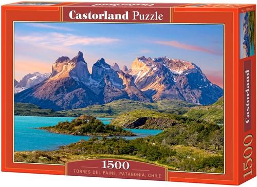 Torres del Paine, Patagonia, Chile Puzzel (1500 stukjes)