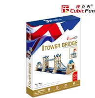 3D Puzzel Tower Bridge (120 stukjes)-1