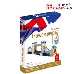3D Puzzel Tower Bridge (120 stukjes)
