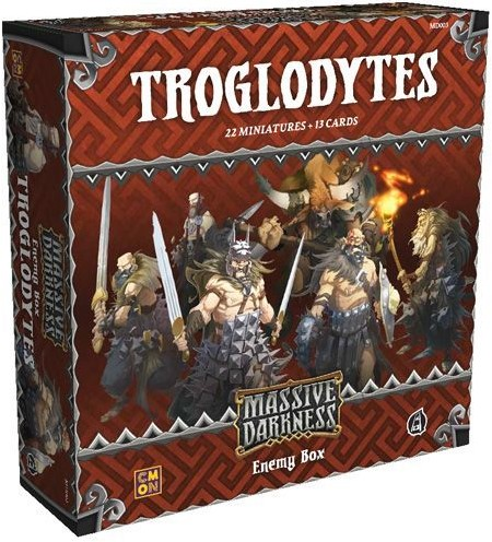 Massive Darkness - Troglodytes Enemy