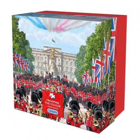 Trooping The Colour - Gift Box - Steve Crisp (500) (Doos beschadigd)