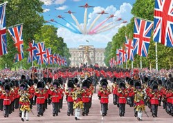 Trooping The Colour - Steve Crisp Puzzel (1000 stukjes)