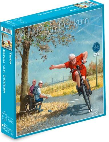 Marius van Dokkum - Turbo Puzzel (1000 stukjes)