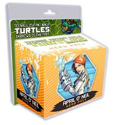 Turtles Shadows of the Past - April O'Neil Hero Pack