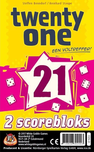 Twenty One - 2 scorebloks